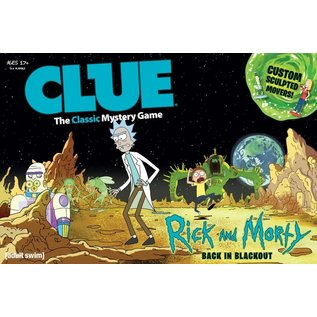 USAopoly Clue: Rick and Morty -  Back in Blackout