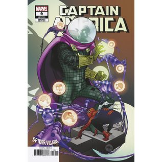 Marvel Comics CAPTAIN AMERICA #09 (2019) FERRY SPIDER-MAN VILLAINS VARIANT