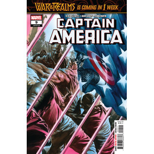 Marvel Comics CAPTAIN AMERICA #09 (2019)