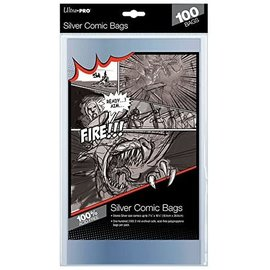 Ultra-PRO Ultra Pro Comic Bags Silver Size 100ct