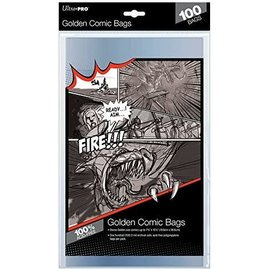 Ultra-PRO Ultra Pro Comic Bags Golden Size 100ct