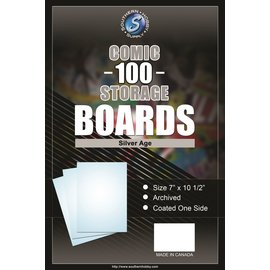 Southern Hobby Comic Boards Silver Size 100ct