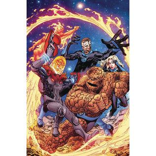 Marvel Comics FANTASTIC FOUR #02 (2018) RANEY COSMIC GHOST RIDER VARiant
