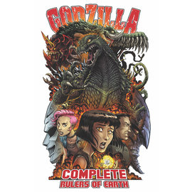 IDW PUBLISHING Godzilla Comp Rulers of Earth Vol 01
