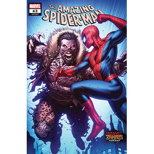Marvel Comics Amazing Spider-Man #43 Keown Marvel Zombies Variant