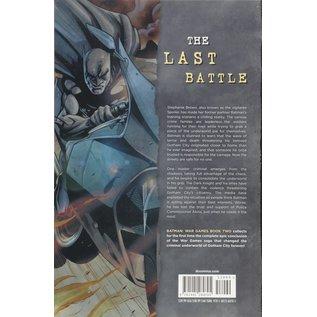 DC Comics BATMAN: WAR GAMES Vol 2