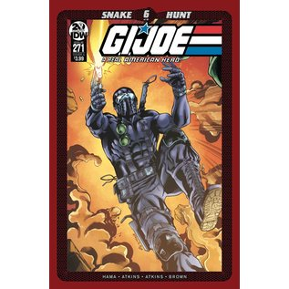 IDW PUBLISHING Gi Joe A Real American Hero #271 Cover A Atkins