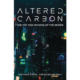 TITAN BOOKS Altered Carbon Art And Making the Series Hc