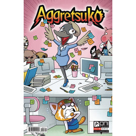 ONI PRESS INC. Aggretsuko #3