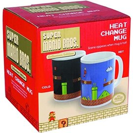 Super Mario Bros Heat Changing Mug