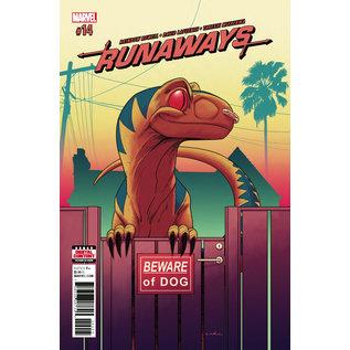 Marvel Comics RUNAWAYS #14 (2018)