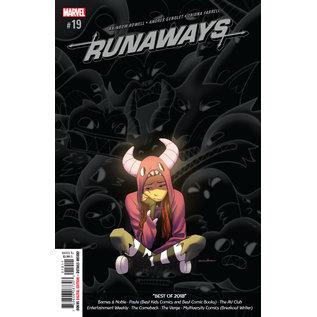 Marvel Comics RUNAWAYS #19 (2019)
