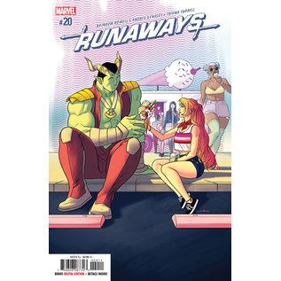 Marvel Comics RUNAWAYS #20 (2019)
