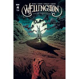 IDW PUBLISHING Wellington #4 (Of 5) Cover A Kowalski