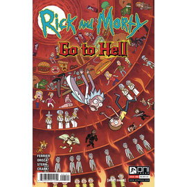 ONI PRESS INC. Rick And Morty Go to Hell #1 Cover B Smith