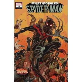 Marvel Comics Miles Morales Spider-Man #17 Bradshaw Marvel Zombies Variant Out