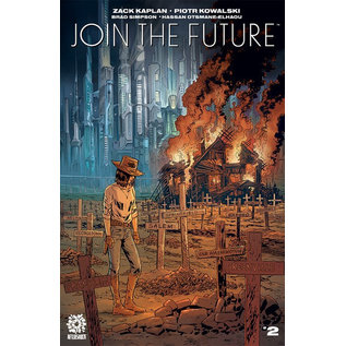 Aftershock Comics Join the Future #2 Cover A Kowalski