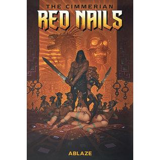 ABLAZE Cimmerian Red Nails #1 Cover A Cassegrain