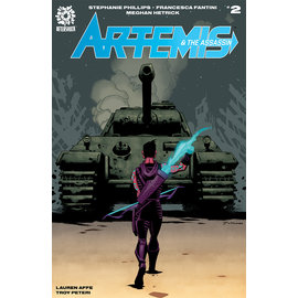 Aftershock Comics Artemis & Assassin #2 Cover A Hester