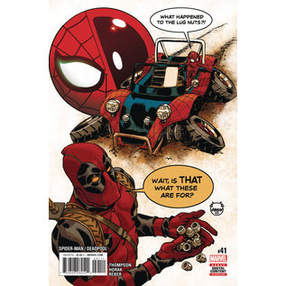 Marvel Comics SPIDER-MAN / DEADPOOL #41