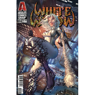 Absolute Comics Group White Widow #4 Cover B Ehnot Gold Foil Logo