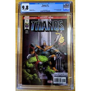 Thanos 15 1st Fallen One CGC 9.8