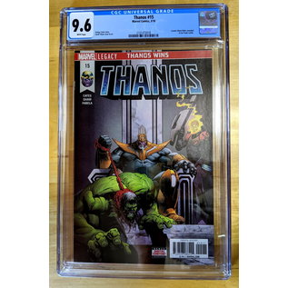 Thanos 15 1st Fallen One CGC 9.6