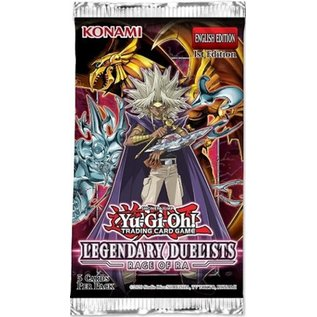 Konami Legendary Duelists: Rage of Ra Booster Pack