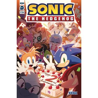 IDW PUBLISHING Sonic the Hedgehog Annual 2020 Cover A Sonic Team