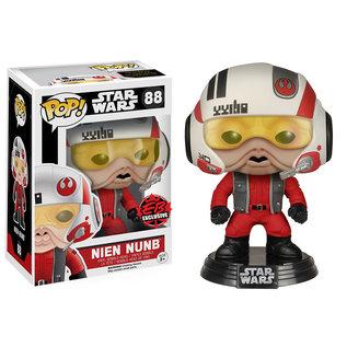 POP! STAR WARS: NIEN NUNB (X-WING PILOT)