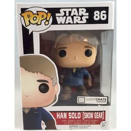 Funko POP!  STAR WARS: Han Solo (Snow Gear) LOOT CRATE EXCLUSIVE
