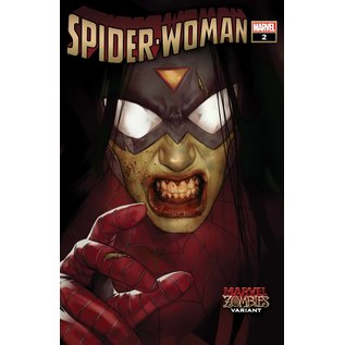 Marvel Comics Spider-Woman #2 Oliver Marvel Zombies Variant