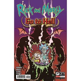 ONI PRESS INC. Rick And Morty Go to Hell #2 Cover B Crosland