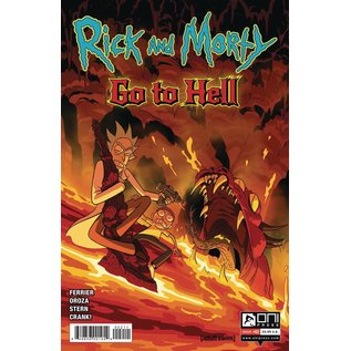 ONI PRESS INC. Rick And Morty Go to Hell #2 Cover A Oroza