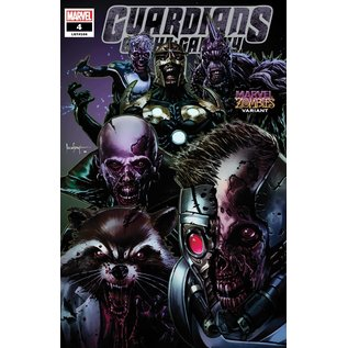 Marvel Comics Guardians of the Galaxy #4 Suayan Marvel Zombies Variant