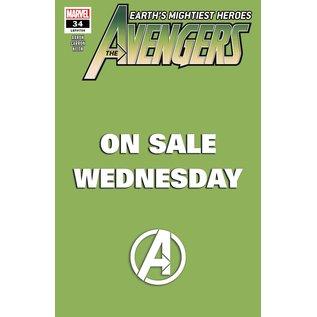 Marvel Comics Avengers #34 Khonshu Pt 2 Marvel Wednesday Variant