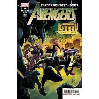 Marvel Comics Avengers #34 Khonshu Pt 2