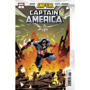 Marvel Comics Empyre Captain America #1 (Of 3)