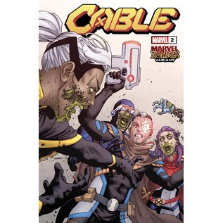 Marvel Comics Cable #2 Yardin Marvel Zombies Variant Dx