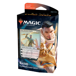 Wizards of the Coast Core Set 2021 Planeswalker Deck Basri