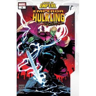 Marvel Comics Lords of Empyre Emperor Hulkling #1