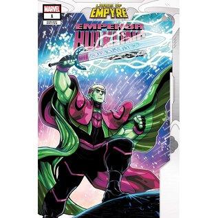 Marvel Comics Lords of Empyre Emperor Hulkling #1 Vecchio Variant