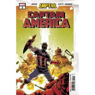 Marvel Comics Empyre Captain America #2 (Of 3)