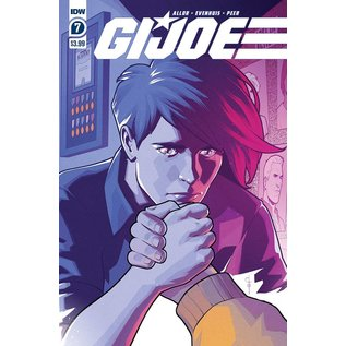 IDW PUBLISHING Gi Joe #7 Cover A Evenhuis