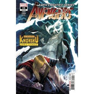 Marvel Comics Avengers #35 Khonshu Pt 3