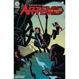Aftershock Comics Artemis & Assassin #4 (Res)