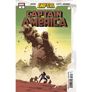 Marvel Comics Empyre Captain America #3 (Of 3)