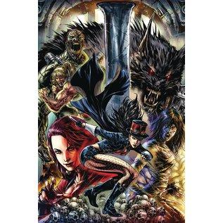 ZENESCOPE ENTERTAINMENT INC Van Helsing Vs League Monsters #4 Cover A White