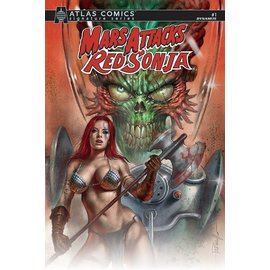 Dynamite Mars Attacks Red Sonja #1 Cover A Parrillo