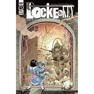 IDW PUBLISHING Locke & Key In Pale Battalions Go #1 (Of 2) Cover A Rodriguez